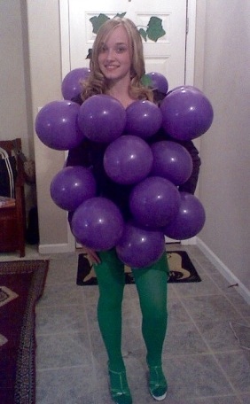bunch o grapes costume