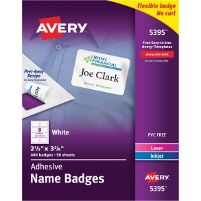 avery name badges