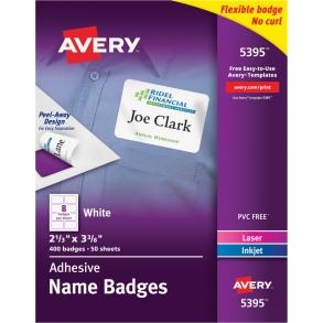 avery name badges